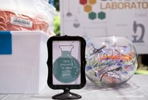 Science Party   Ideas, Decorations and Inspiration / Science Party ideas, including party decorations, science party themed sweets and treats, printables and party activities.