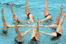 Water ballet Синхронное плавание