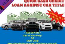 Quick cash credit loan against car title