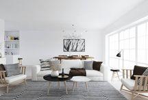 New flat / Inspiration scandinavian, minimalistic design