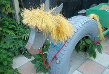 School garden ideas / Equipment