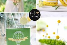 Yellow Green wedding