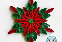 Quilling Natale
