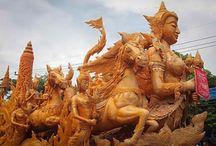 Ubon Ratchathani Candle Festival 2013