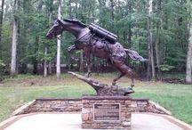 Mongolian war horse