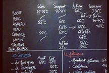 températures de cuisson à coeur
