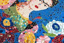 My mosaic loves / Mosaic ideas and diy
