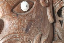 Exotic art from Indonesia / Exquisite wood carving, blown glass, worked metal, and primitive art from Indonesia