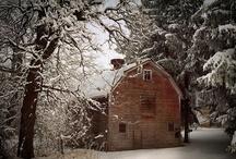 ~ Old Barns & Covered Bridges ~