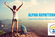 Alpha RePatterning / Alpha RePatterning is an outcome focused process. It harnesses the awesome power of your unconscious mind to safely and easily identify your unconscious blocks to success, and thoroughly resolve them with EFT, whether those issues occurred before, during or after birth.