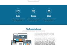 web design and development landing pages
