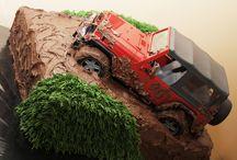 Birthday cake jeep