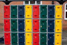 School Lockers & Equipment