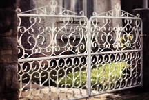 Funky Fences / My obscure obsession; artist beauty in the humble fence and gate