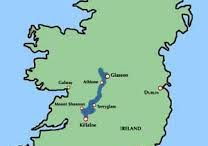 SHANNON RIVER IN IRELAND IN THE CENTER OF IRELAND