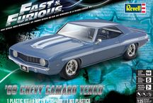 Fast & Furious TM / Revell's line of scale plastic model kits based on the global smash hit movie franchise Fast & Furious.  Fast & Furious is a trademark and copyright of Universal Studios. Licensed by Universal Studios Licensing LLC. All Rights Reserved.
