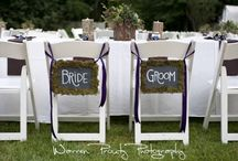 Bride and Groom Chair Sign / You can see here different bride and groom chair signs.
