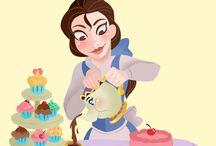 Disney: Princesas e seus pets
