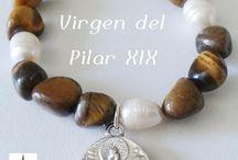 Pilarica / Medallas de Nuestra Señora del Pilar.