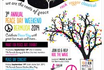 Bermuda Peace Weekend 2014 / This year in Bermuda we have ART MUSIC and SPORT for  PEACE WEEKEND............ September 18th - 21st http://www.doublefantasybermuda.com/concert.html