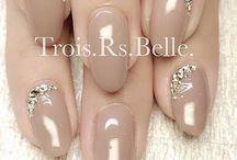 weddingday nails