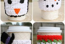 Crochet cup cozies / by Simply Done Crochet
