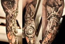 tattoo full arm men