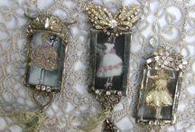 Jewelry Pendants / by Jeanette Ballew