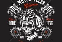diseño para motociclista