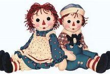 RAGGEDY ANN / When I was 4 years old,  I had my tonsils out, all I wanted was a Raggedy Ann doll..I never got one