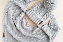 Вязаные платочки