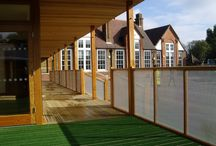 Dulwich Hamlet Junior School / Dulwich Hamlet Junior School were running out of place and asked us to build an #outdoorclassroom
