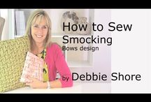 Sewing project videos by Debbie Shore / Video tutorials for making all kinds of projects, great for a beginner sewer!