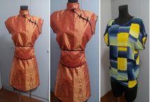 Elkészült ruhák