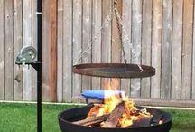 feuerstelle plus grillen