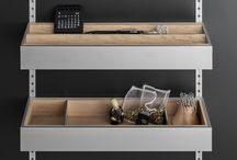 Kitchen Cabinet Storage Solutions by SieMatic / With endless options and ultimate flexibility, SieMatic's MultiMatic is an interior design system that can be configured, changed and expanded to fit your needs at any time. It's easy to use and adjust and gives you up to 30% more space.
