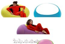 """Expand Pouf / Expandpouf is the evolution of the classic ottoman, the first in the world to have a """"memory"""" that makes it so-called """"active"""" in performance."""
