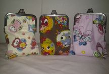Purses / Purses with frames Handmade in Finland