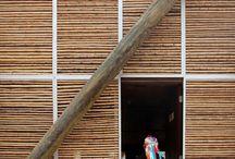 Paneles y Revestimientos / Excelentes ejemplos realizados alrededor del mundo donde el Bambú es el elemento principal en fachadas y separadores de ambiente.