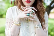 Boho Summer Collection / Embrace your inner bohemian girl, with stacker bracelets, layered necklaces and rock crystals!