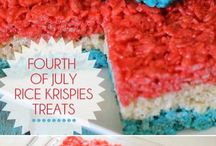 4th of July- Eats/Drinks/Sweets/Ideas