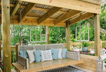 back yard seating idea