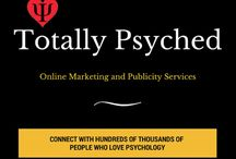 Psychology Content Marketing & Publicity / If you are looking to promote anything connected with the wonderful world of psychology; your website, your book, your articles, your blog, your podcast...I can help. / by All About Psychology
