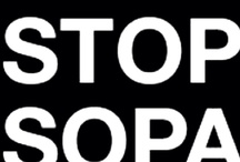stop SOPA!! i hate you SOPA!! / by Ashley High