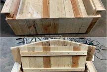 Wood pallets ideas
