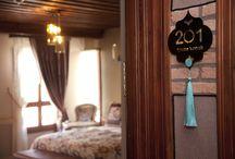 Tarihi Konseptler / Eskişehir Odunpazarı Tarihi evleri içerisinde özenle yaratılmış bir Konak Otel