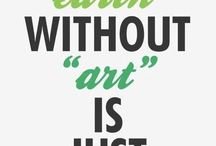 """Art / Anything """"artsy"""" you will find here."""