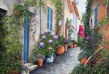 Delicacies painting except women ♫ ♪ ♥●•٠·˙ ☯ / mignardise affleteries