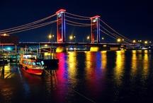 """My City """" Bumi Sriwijaya-Palembang"""", South Sumatera, Indonesia"""