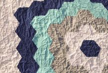 Look at that Negative Space! / Because Negative Space is one of the pillars of modern quilting, here's a place to gather inspiration and quilts that have used it effectively!
